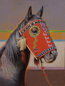 Lightning Eyes, Plains Cree