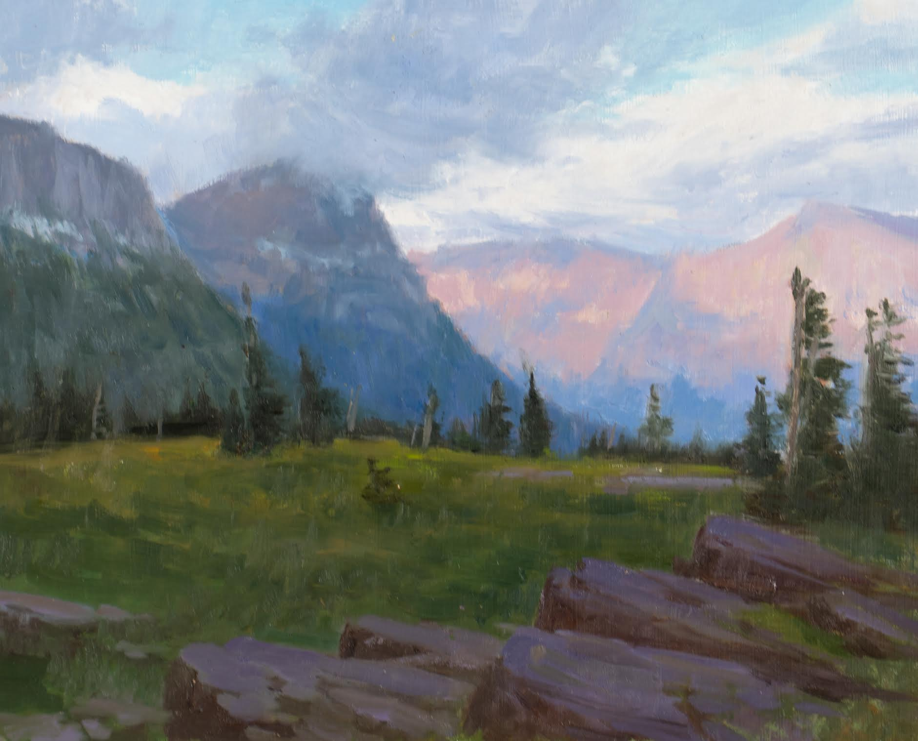Study of Logan Pass