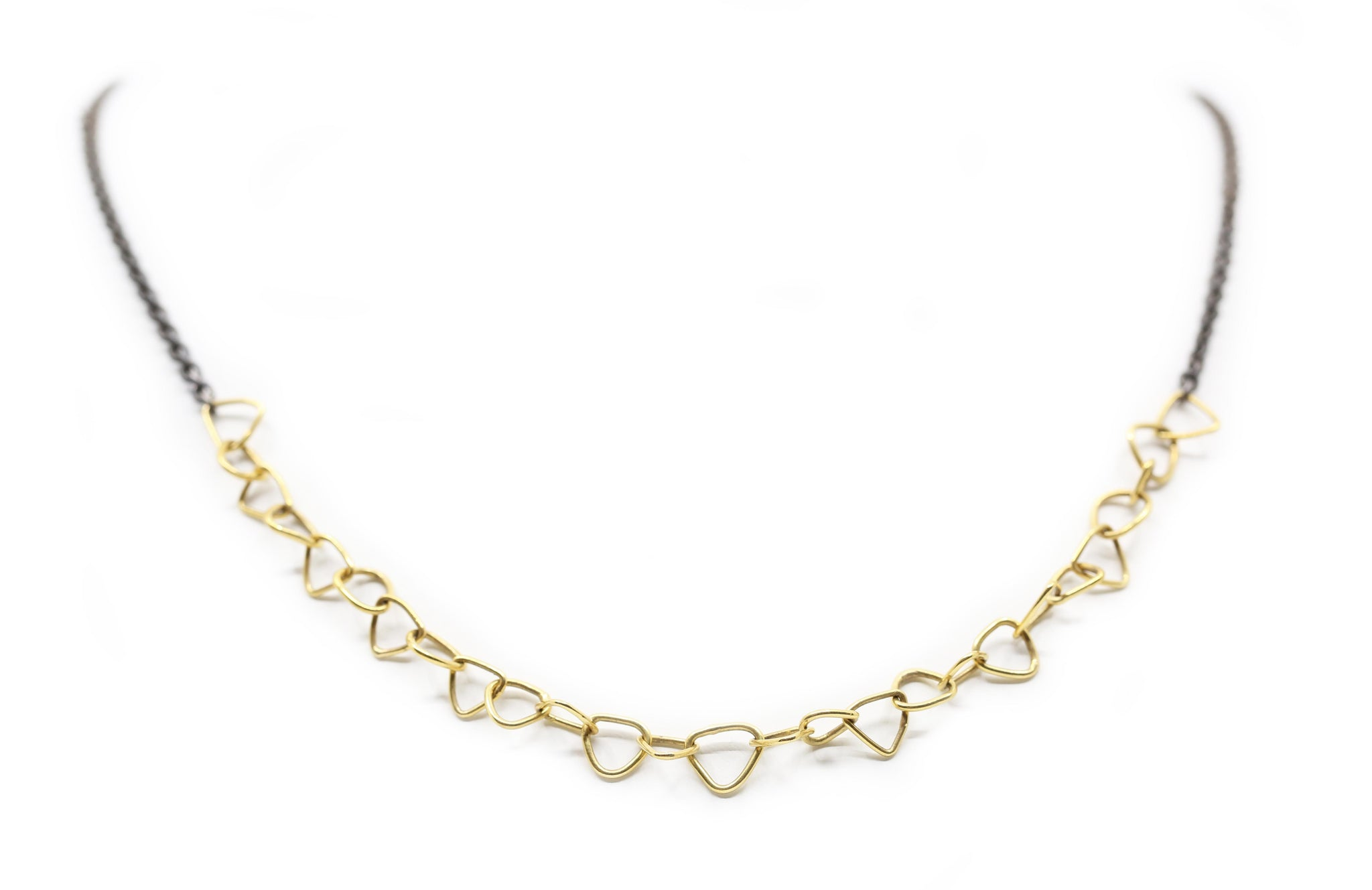 Trigon Handmade Gold Triangle Chain