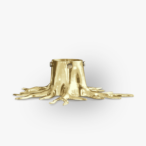 Christmas Tree Stand - Gold