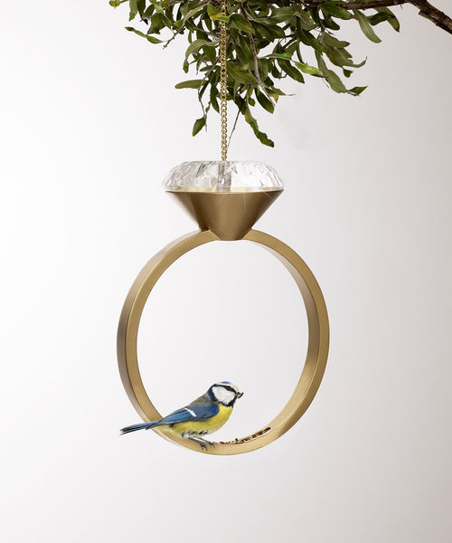 Diamond Bird Feeder