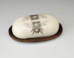 Butter Dish - Honey Bee