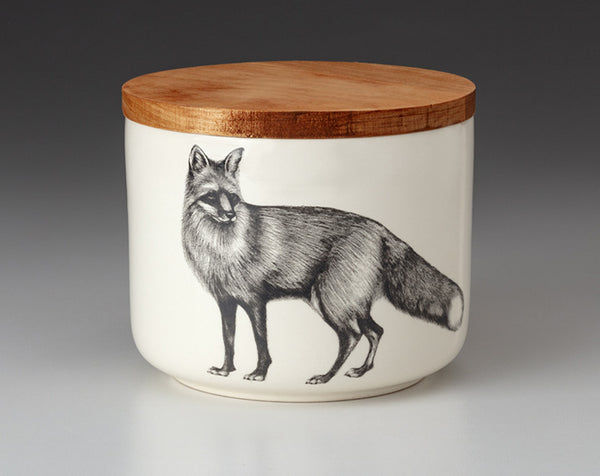 Mini Canister with Lid - Fox
