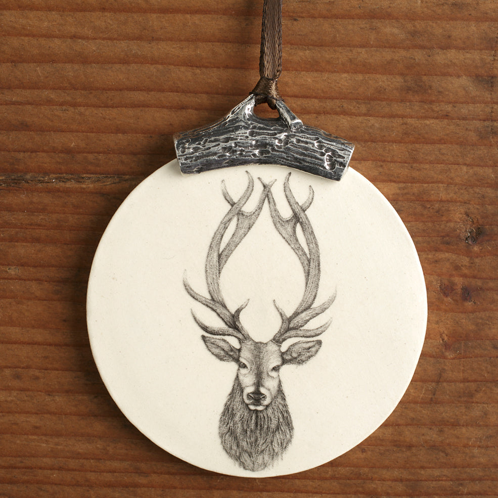 Ornament - Red Stag