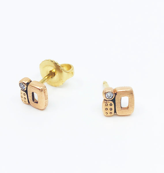 Little Windows Stud Earrings