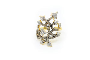 Branches of Diamonds Ring