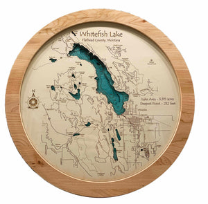 Lazy Susan - Whitefish Lake and Town