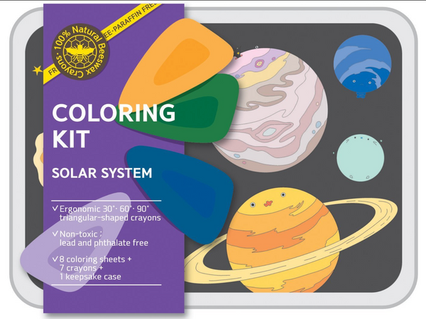 Solar - coloring kit - Small