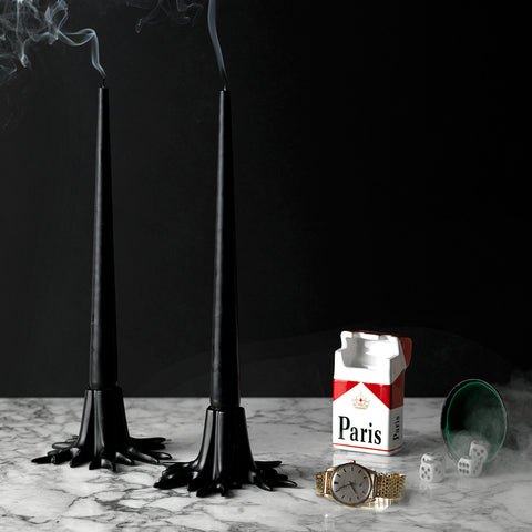 Candle Sticks - Black