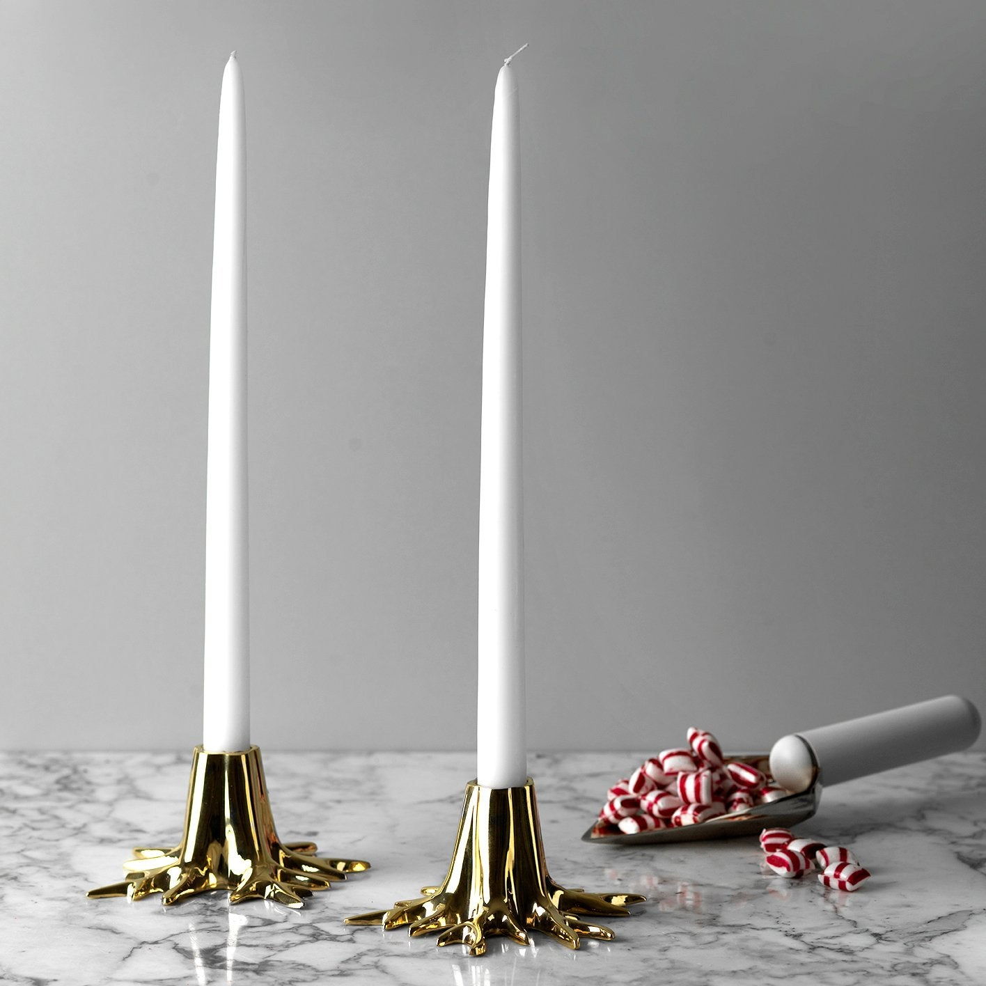 Candle Sticks - Gold
