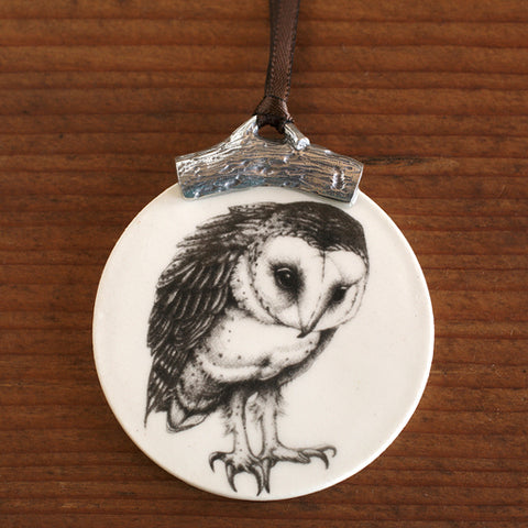Ornament - Barn Owl