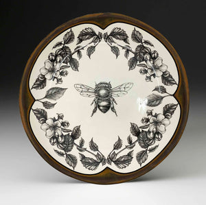 Round Serving Platter - Honey Bee