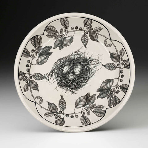 Round Serving Platter - Quail Nest