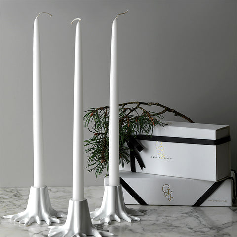 Candle Sticks - White