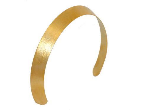 Wide Spun Gold Crown