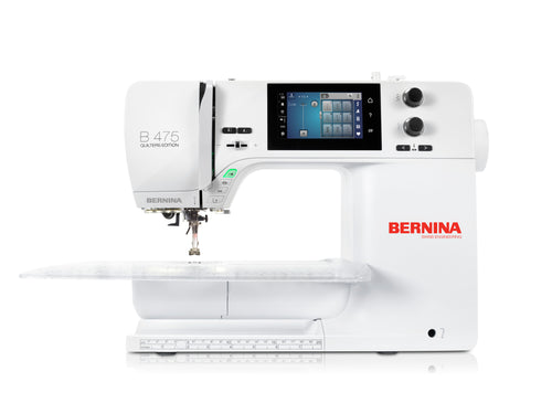 Bernina S-475QE (New Model - Just launched!!) Special Offer