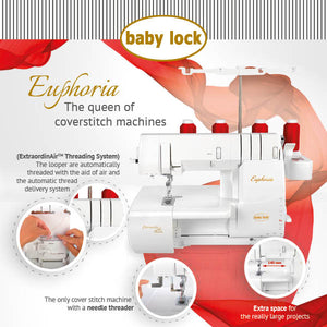 Baby lock Euphoria Coverstitch - Out of Stock