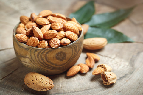 almonds, skin-friendly food, healthy eating