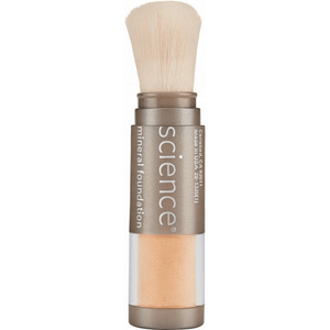 Loose Mineral Foundation Brush with SPF 20 in Medium Bisque