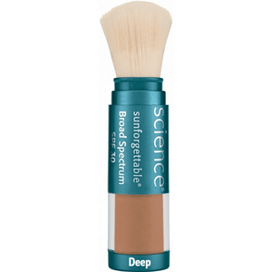 Colorescience Sunforgettable Brush on Powder Sunscreen SPF30 - deep