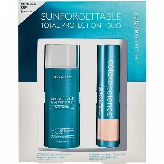 SUNFORGETTABLE TOTAL PROTECTION DUO KIT SPF 50 - Colorescience UK