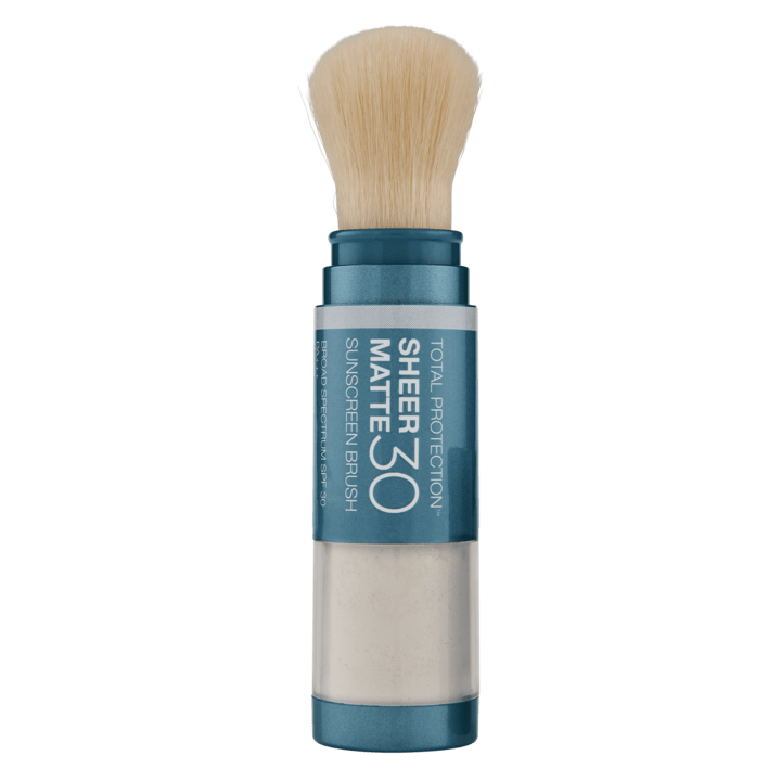 SUNFORGETTABLE TOTAL PROTECTION SHEER MATTE SPF 30 SUNSCREEN BRUSH