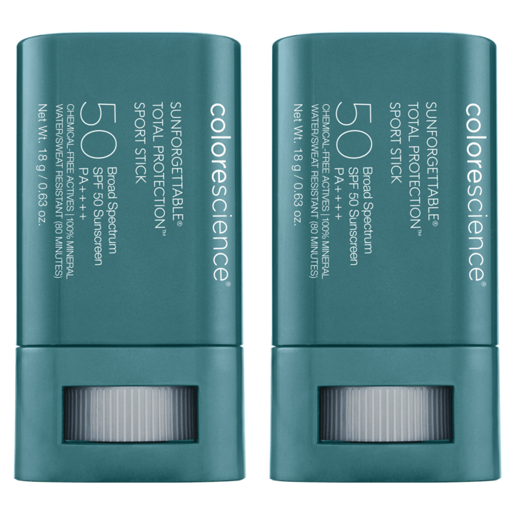 Sunforgettable Total Protection Sport Stick SPF 50 Twin Pack - Colorescience UK