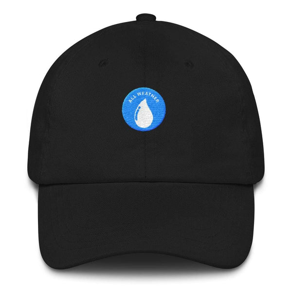 All Weather Embroidered Dad Cap (Black) - Third Culture