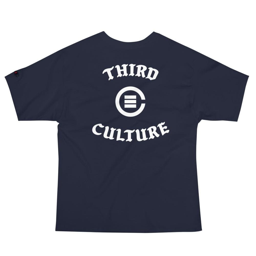 B-Boy Script Champion T-Shirt (Navy) - Third Culture