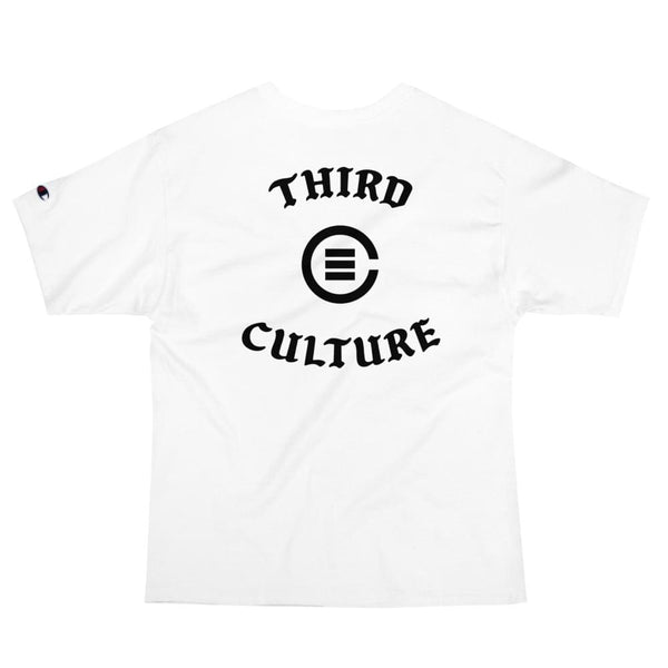 B-Boy Script Champion T-Shirt (White) - Third Culture