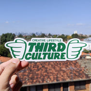 Creative Lifestyle Large Sticker - Third Culture