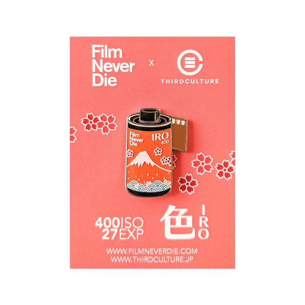FilmNeverDie IRO 400 35mm Film Pin (FilmNeverDie Collab) - Third Culture