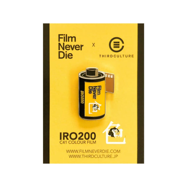 Filmneverdie Super Iro 200 35Mm Film Pin (Filmneverdie Collab) - Third Culture
