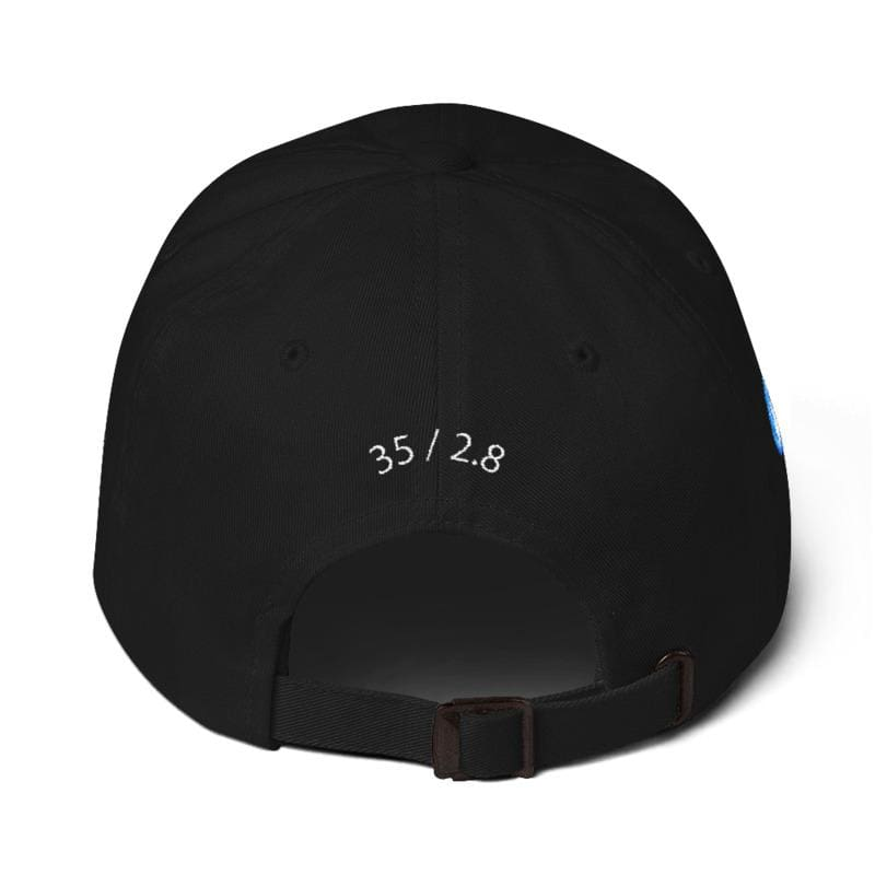 Mju Ii Embroidered Dad Cap (Black) - Third Culture
