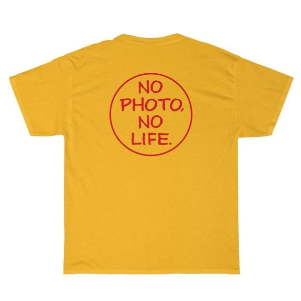 No Photo No Life T-Shirt - Third Culture