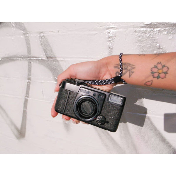 Paracord Camera Wrist Strap (Black) - Third Culture