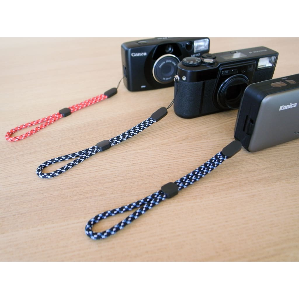 Paracord Camera Wrist Strap (Blue) - Third Culture