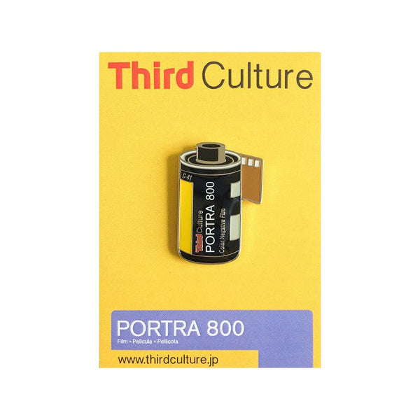 Portra 800 35Mm Film Pin - Third Culture