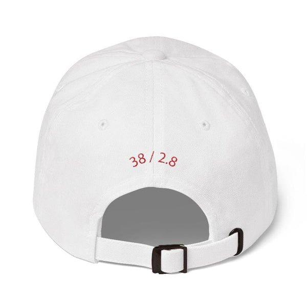 T2 Embroidered Dad Cap (White) - Third Culture