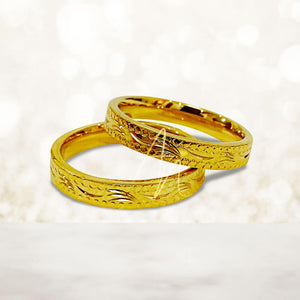 R6 Gold Couple Ring (Lifetime Warranty Guaranteed Non-Faded)
