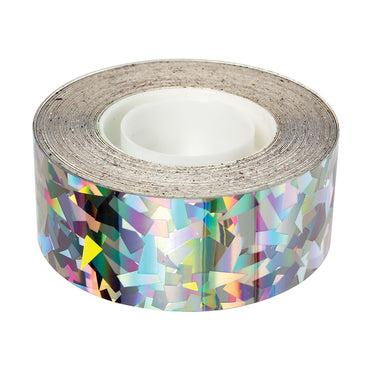 Meri Meri Sparkly Silver Mylar Decorative Tape