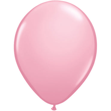 "11"" Pink Latex Balloons 6pc"