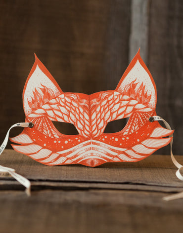 My Orange Fox Children's Mask