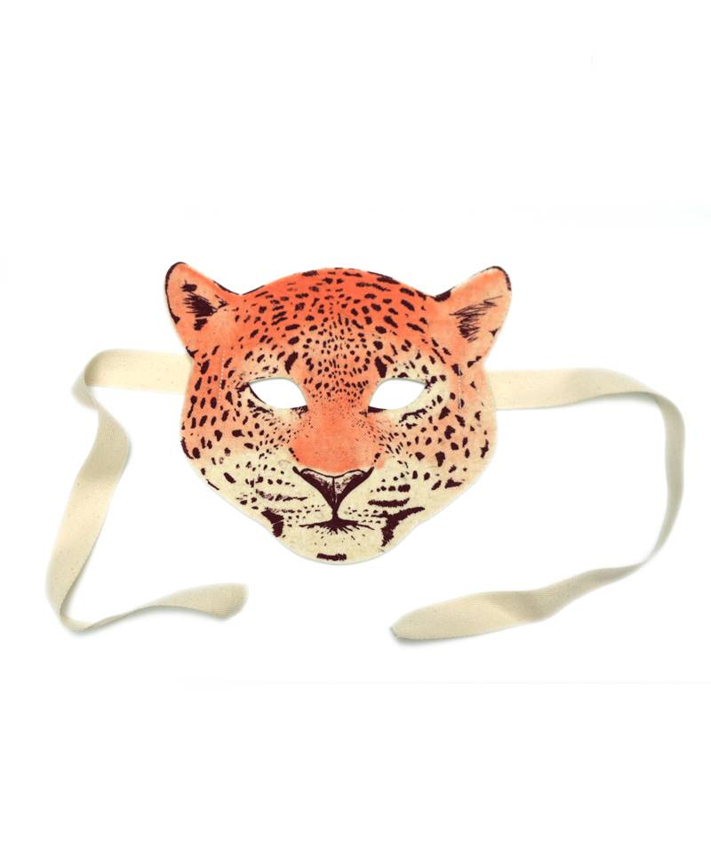 Leopard Felt Mask | Fridas Tierchen