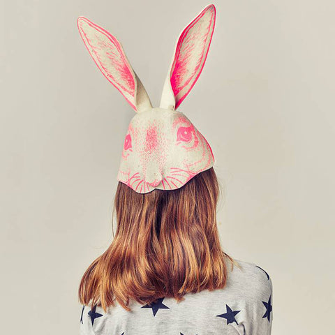 Rabbit Headpiece Pink | Frida's Tierchen