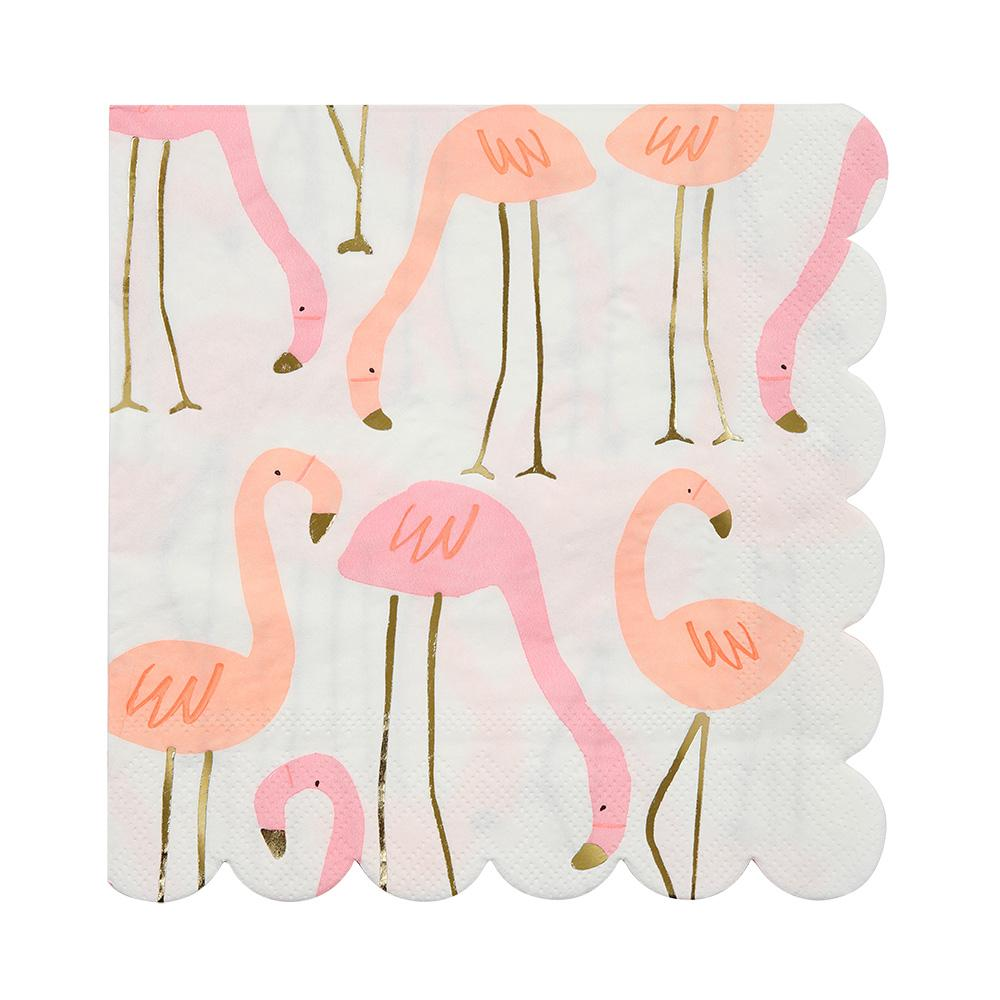 Meri Meri Flamingo Napkins (Large)