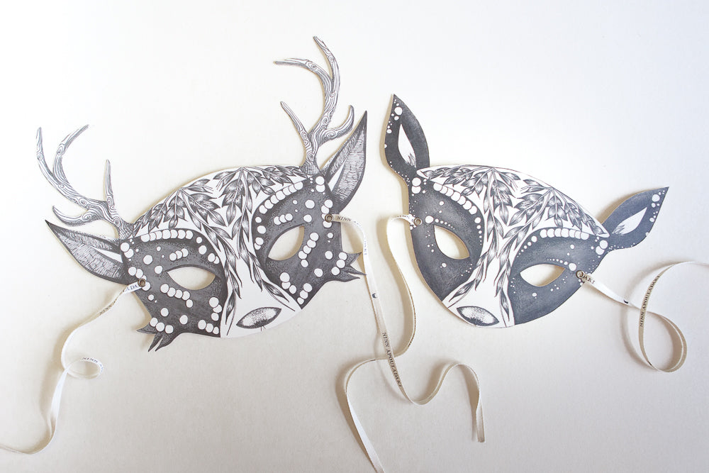 My Deer Lovers Set Adult Masks
