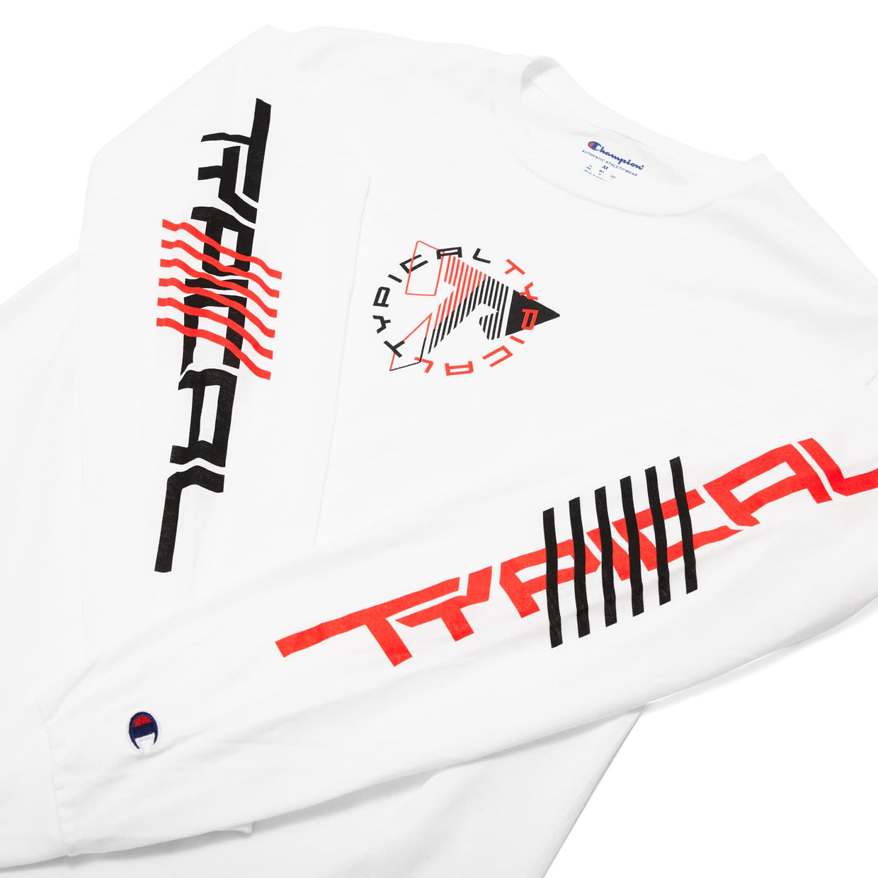 Typical 'Fragments' Champion Long Sleeve Tee