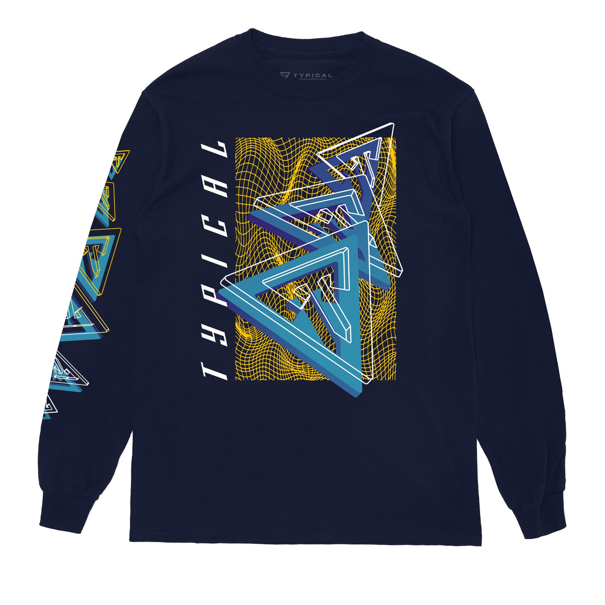 'Oscillation' Long Sleeve Tee
