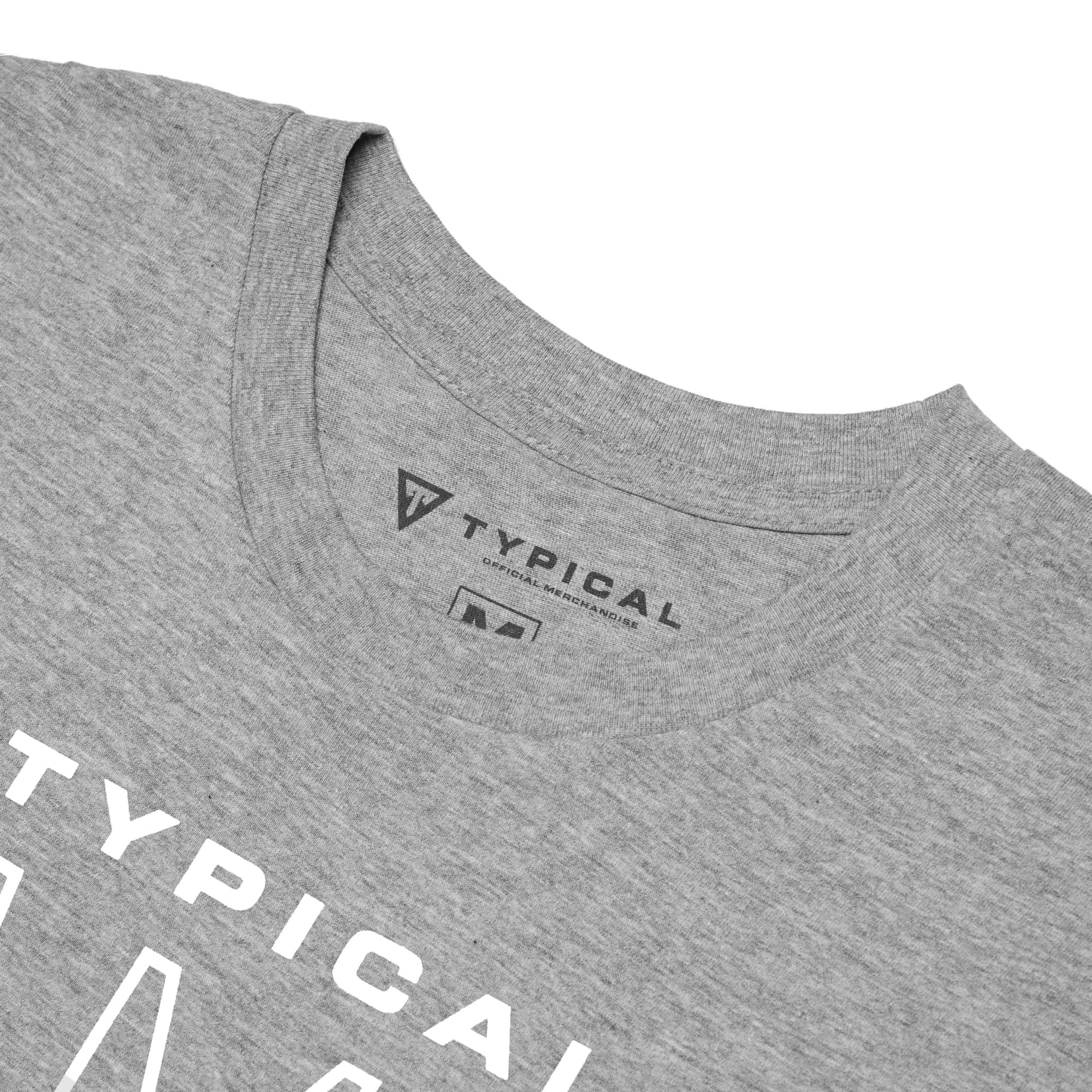 Typical Gamer 'Season 3' Tee - Heather Grey